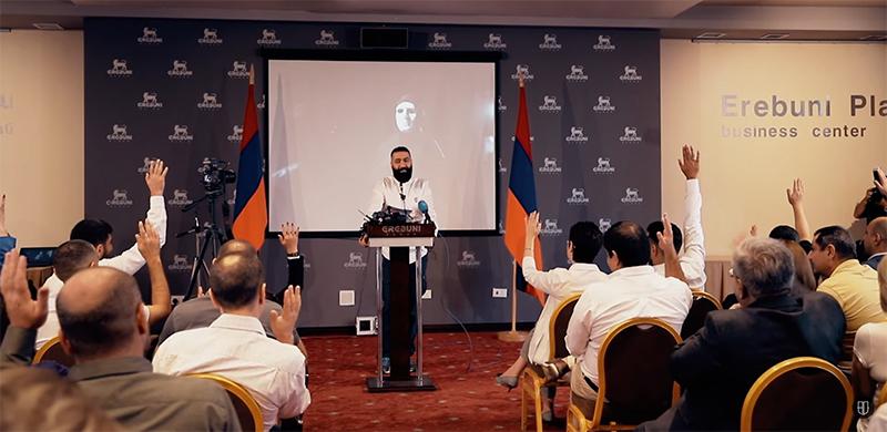 Հայտարարություն. «Ադեկվադ» կուսակցության հիմնադիր համագումար